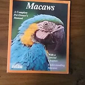 MACAWS ..... COMPLETE PET OWNERS
